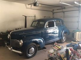 1940 Studebaker Sedan