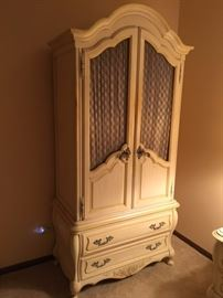 Vintage French Provincial Armoire