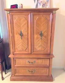 Armoire to bedroom set