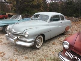 1951 mercury sports coupe not running