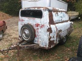 1953 Ford van trailer