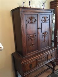 China cabinet.  Part of set.