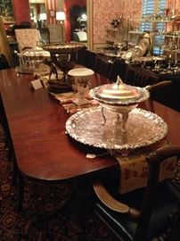 1920's American-made dining table (from the Grand Rapids Bookcase & Chair Company)