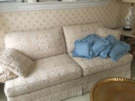 Designer quality sofa was $100.00 now $50.00