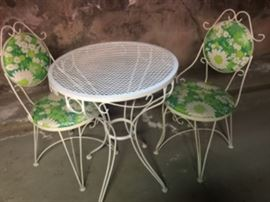 Vintage Patio Set was $120.00 now $60.00