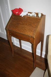 Small antique secretary