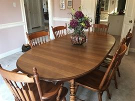 Tell City table and chairs
