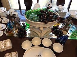 Murano glass fruit