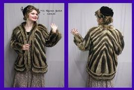 20. Raccoon Coat - $450.00