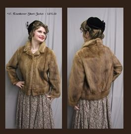 17. Eisenhower Short Jacket - $495.00