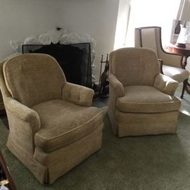 Henredon  club chairs