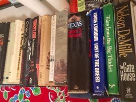 Books; Michener, Louis L' Amour