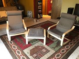 Ikea Poang chairs. Very good shape.