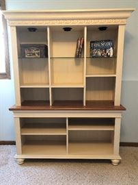 Ethan Allen book case to match the desk.