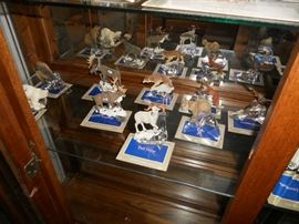 Franklin Mint Alaskan Frontier Sculptures