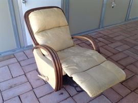 Tommy Bahama leather recliner $150