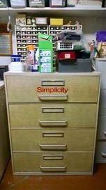 Great Vintage Pattern Cabinet!