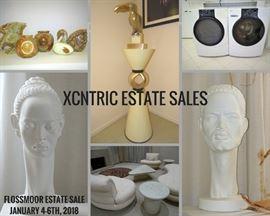 Xcntric Estate Sales Flossmoor Estate Sale January 4-6, 2018