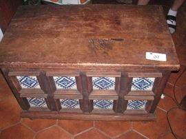Vintage Tile chest