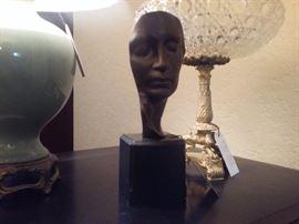 Bronze signed John Gutzon Borglum.