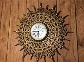 Lot 007 Vintage Starburst Clock