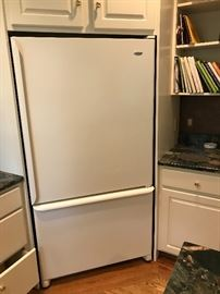 Large refrigerator, one of two available
