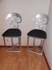 horchow bar stools (neiman marcus)