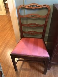 8 dining room chairs (1790's Philadelphia)