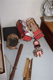 a few other dolls and billy club