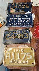 Motorcycle Plates and Car plates