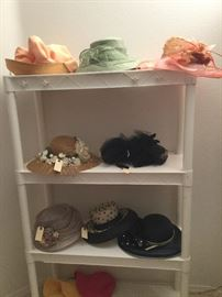 hats from the Kentucky derby