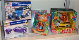 New in Box, NIB, Revell, Model, Rat Fink, Mod Rods, Racing Champions