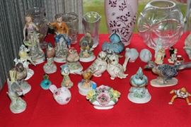 Figurines - wide variety