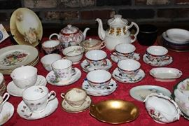 Delicate tea cups