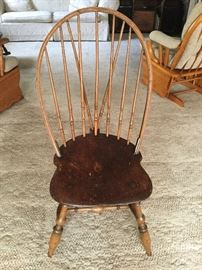 Early 19th century primitive Windsor Chair