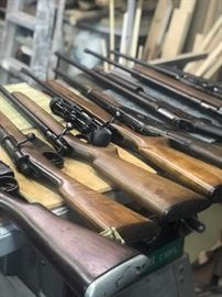 Vintage and Antique Military Rifles (See List)