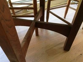 Legs of 1902 Unmarked Stickley Table
