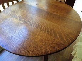 Top of 1902 Unmarked Stickley Table