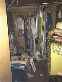 linens, hats, misc.