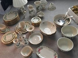 Lenox China CHRISTMAS SET