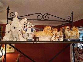 Staffordshire Lion, Spaniels, Dogs, Scottish Hunter