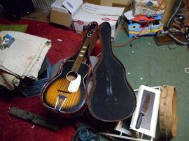 Vintage Acoustic Guitar