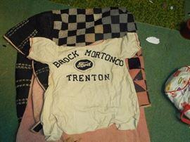 Back of Uniform with Ford Sponsor Trenton, NC