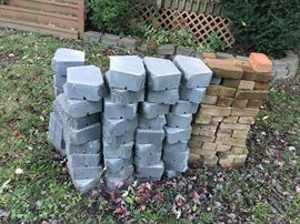 LANDSCAPING BLOCKS & BRICKS