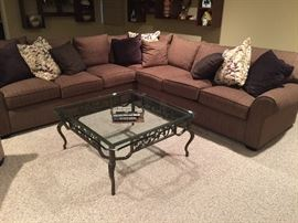 New Sectional, browns