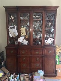 China cabinet with Collectibles