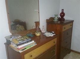 1950s Bedroom set 57x76 Bed