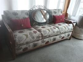Indoor/outdoor sofa set