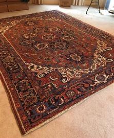 Antique 'Heriz' rug