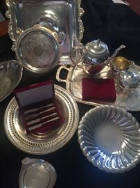 Some very pretty silverplate